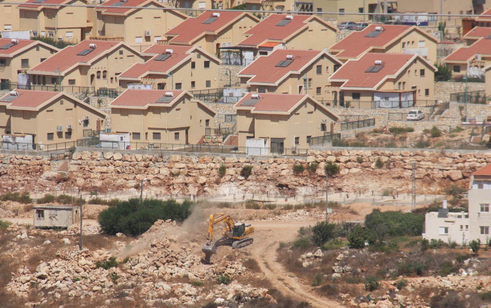 المستوطنات الاسرائيلية في الضفة