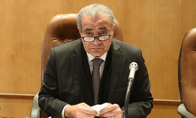 وزير التموين المصري على المصيلحي