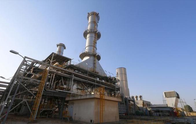 محطة لتوليد الكهرباء في حماة بسوريا