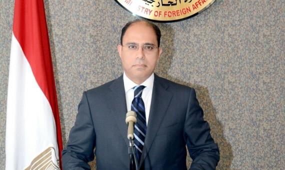 المستشار أحمد أبو زيد، المتحدث بإسم وزارة الخارجية المصرية