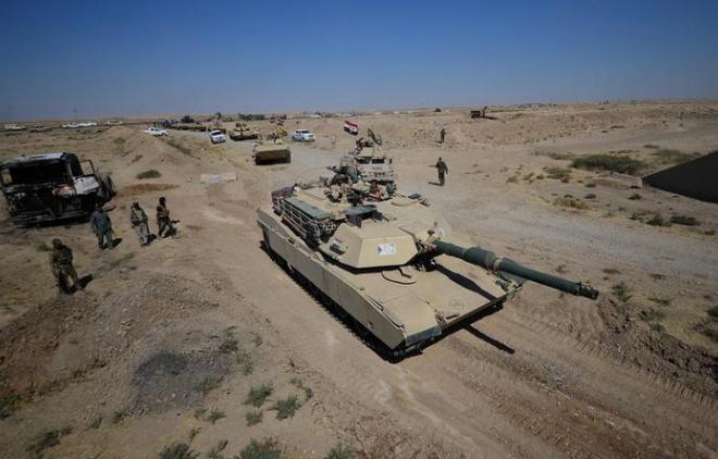 دبابة تابعة للجيش العراقي