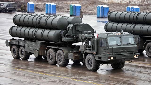 نظام إس-400 الروسي للدفاع الجوي