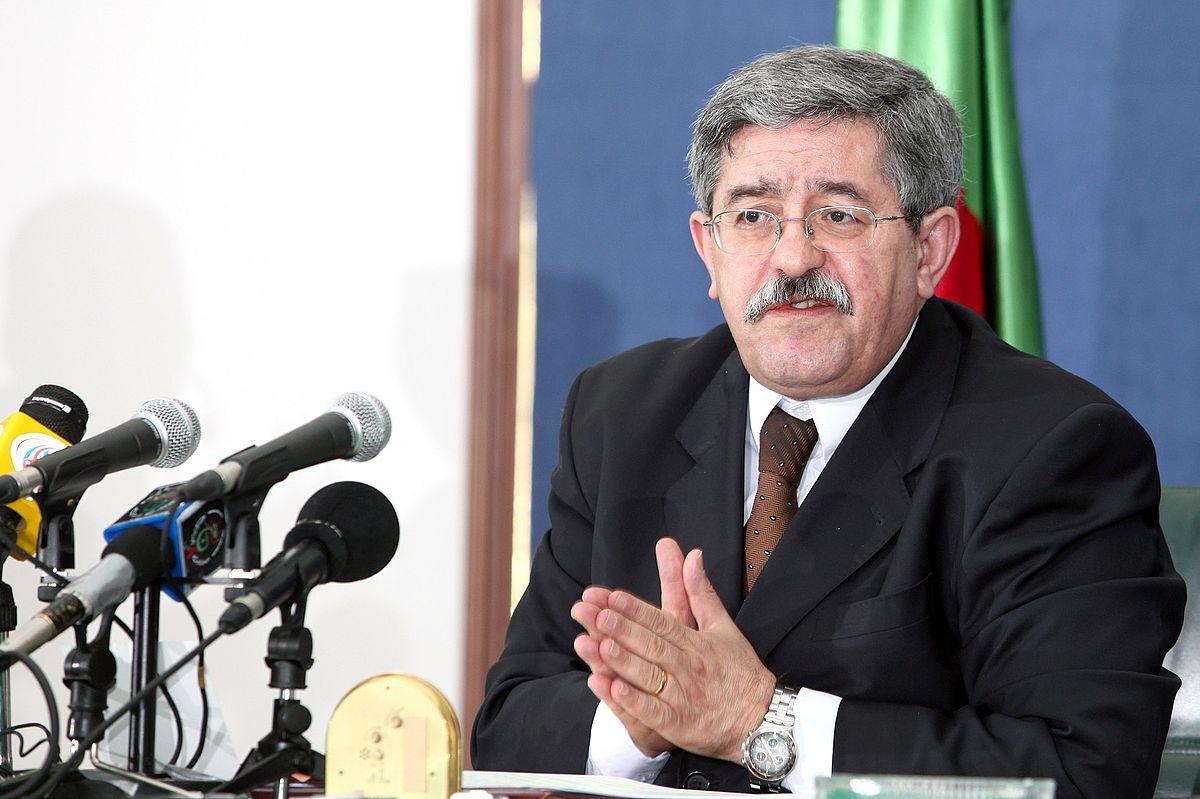 رئيس الوزراء الجزائري، أحمد أويحي