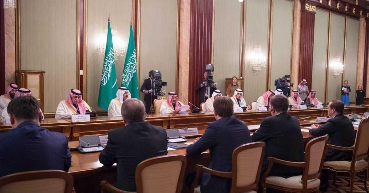 مباحثات العاهل السعودي في روسيا