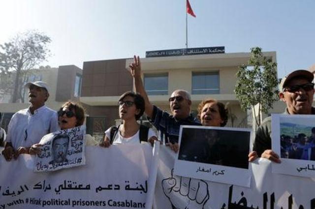 معتقلو حراك الريف بالمغرب في وضع صحي حرج بسبب إضراب عن الطعام