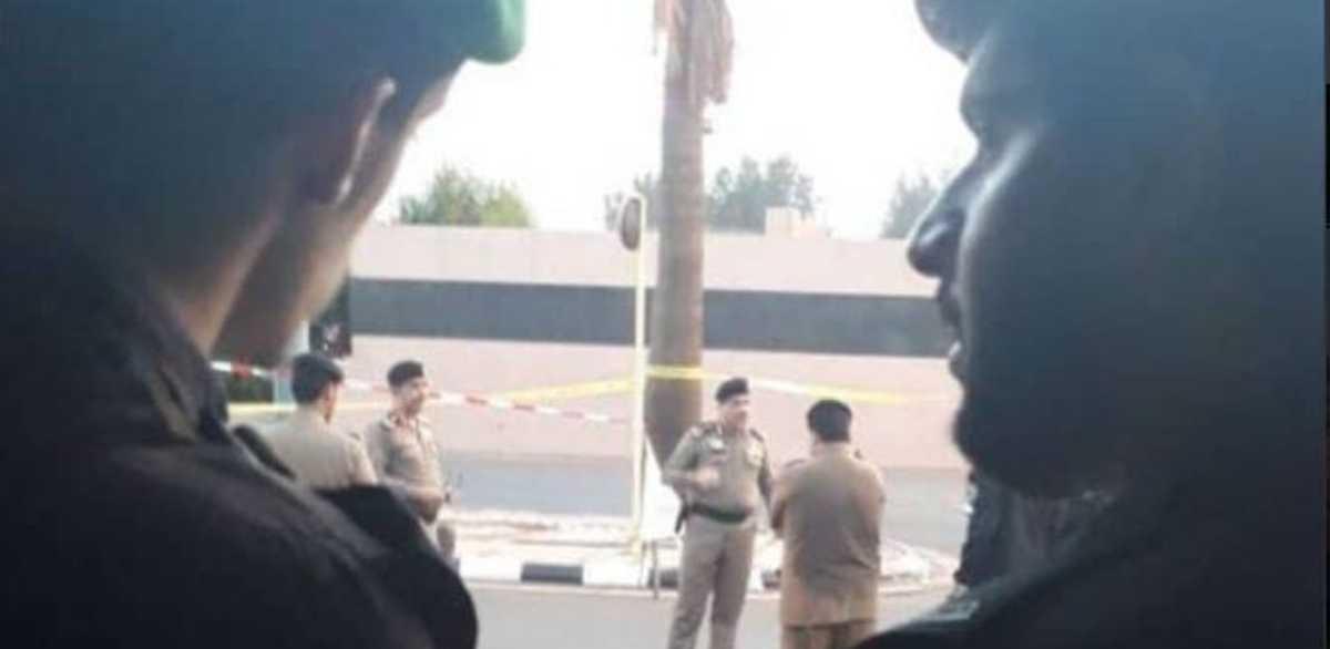 صورة نشرتها وسائل التواصل السعودية لمنفذ الهجوم
