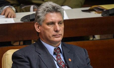 ميجيل دياز كانيل النائب الأول للرئيس الكوبي راؤول كاسترو