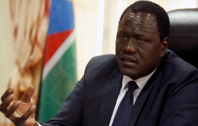 وزير النفط في جنوب السودان