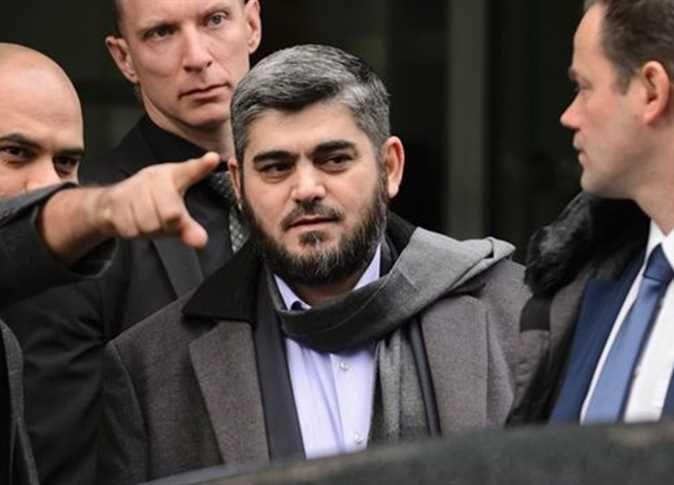 محمد علوش كبير المفاوضين السوريين ورئيس وفد المعارضة