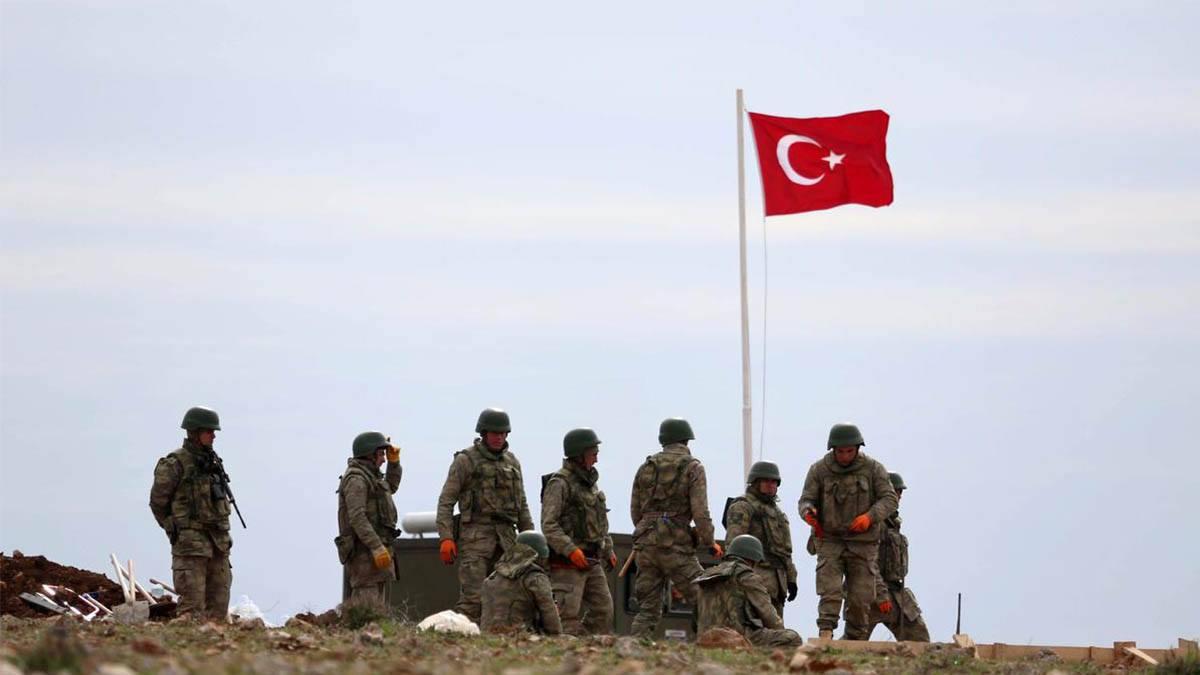 القوات التركية