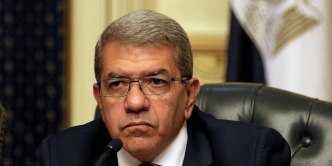 عمرو الجارحي وزير المالية المصرى