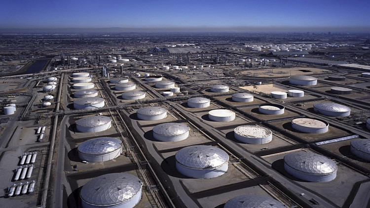 مخزونات النفط الأمريكية