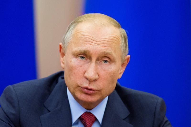الرئيس الروسي فلاديمير بوتين يتحدث في سوشي