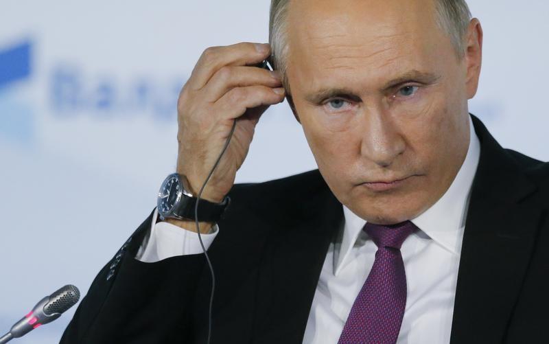 الرئيس الروسي فلاديمير بوتين في سوتشي