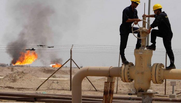 حقل نفط شمالي العراق