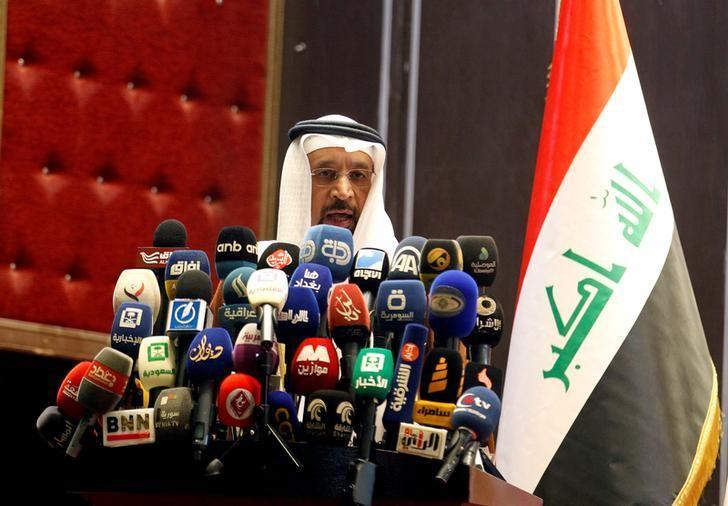 وزير النفط السعودي خالد الفالح في العاصمة العراقية بغداد