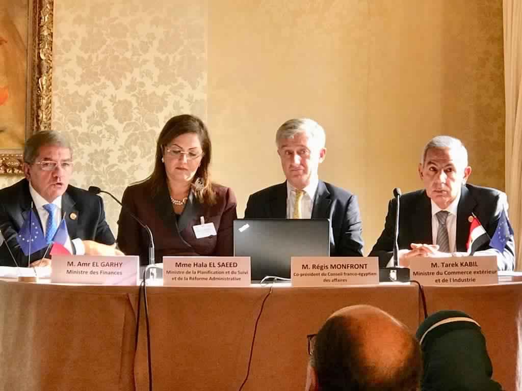 اجتماع مجلس الأعمال المصري الفرنسي