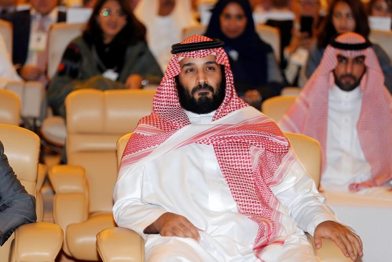 ولي العهد السعودي الأمير محمد بن سلمان في الرياض