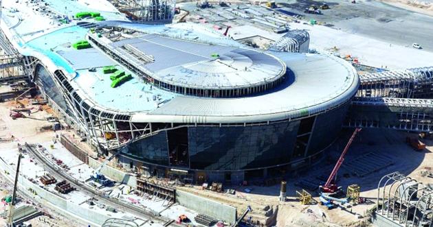 المبنى الجديد بمطار أبوظبي