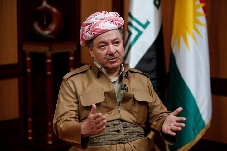 مسعود برزاني رئيس إقليم كردستان العراق
