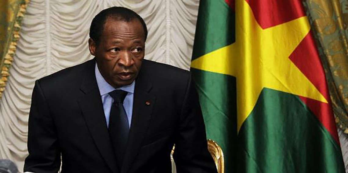 بليز كومباوري رئيس بوركينا فاسو السابق