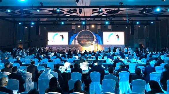 جانب من فعاليات المؤتمر الدولى للطاقة النووية فى أبوظبى
