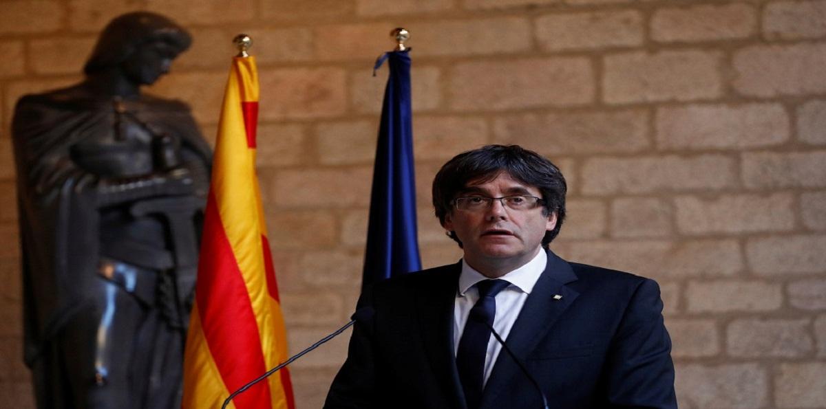 زعيم كتالونيا المقال
