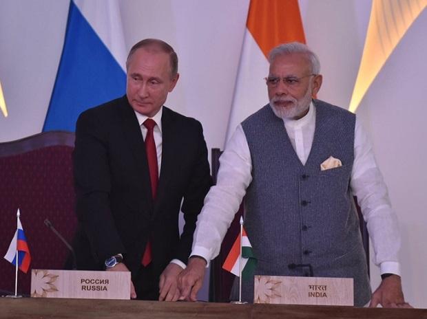 صورة أرشيفية لعلاقات الهند وروسيا