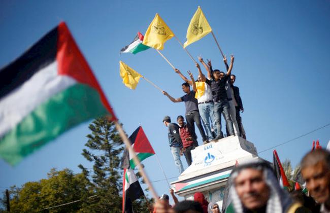 تظاهرات فلسطينية