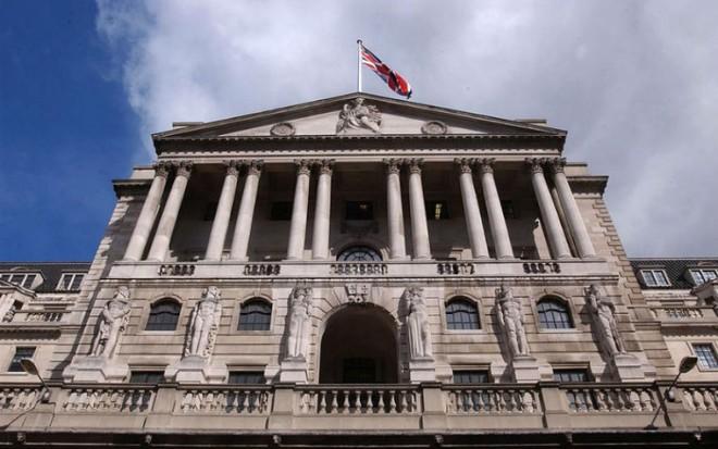 مقر بنك إنجلترا المركزي في لندن