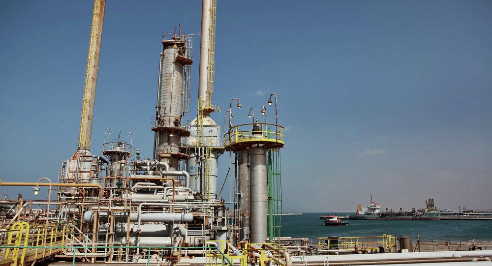 أحد حقول النفط في ليبيا