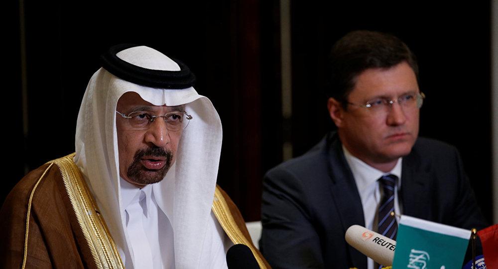 وزير الطاقة السعودي يجتمع مع نظيريه من روسيا وقازاخستان