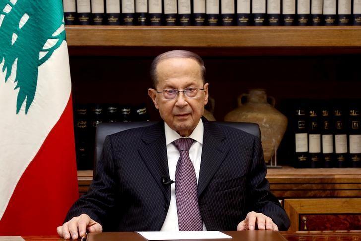 رئيس الجمهورية اللبنانى ميشال عون