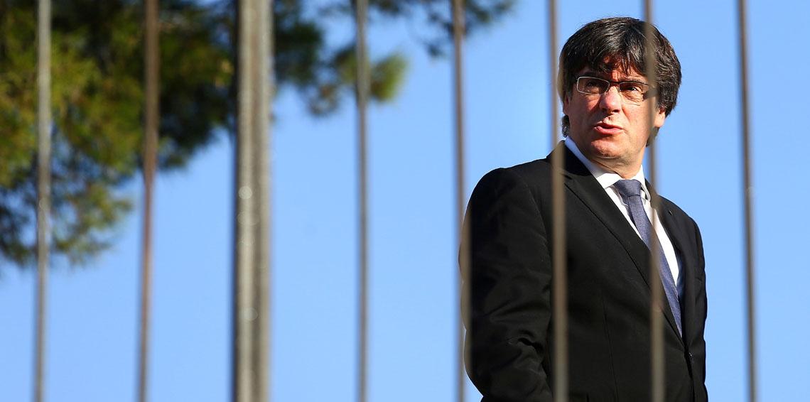 زعيم كتالونيا المعزول كارلس بودجمون