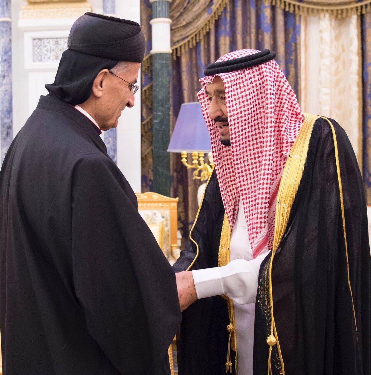 العاهل السعودي يلتقي اليوم البطريرك اللبناني