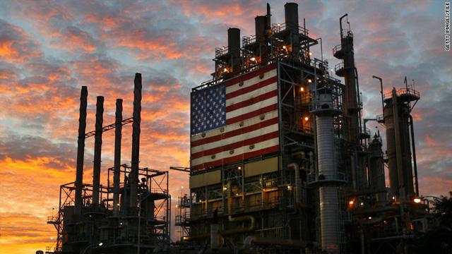 أحد منشآت النفط الأمريكي