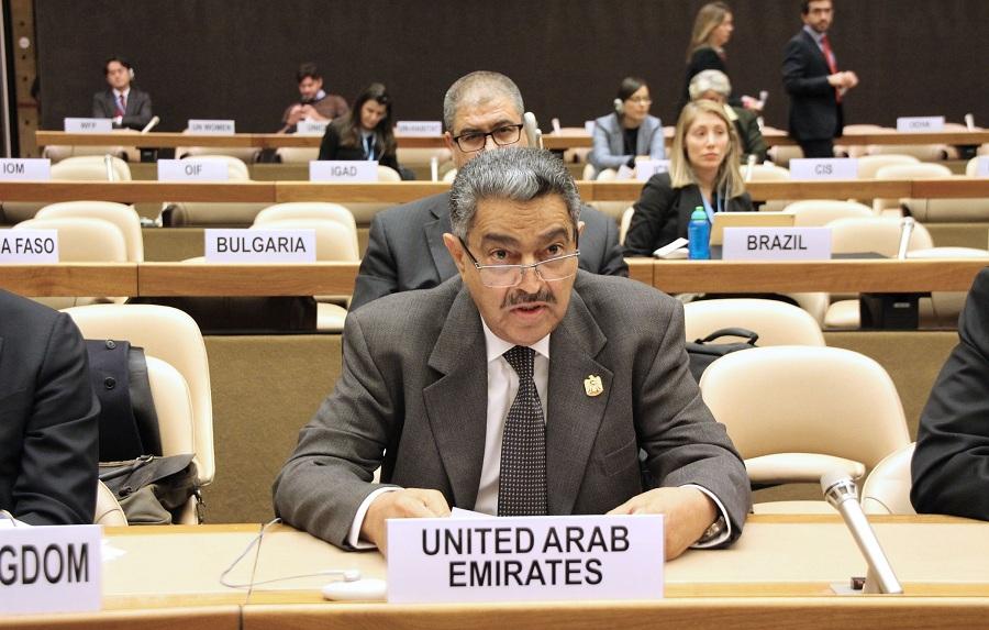 المندوب الدائم لدولة الإمارات لدى للأمم المتحدة