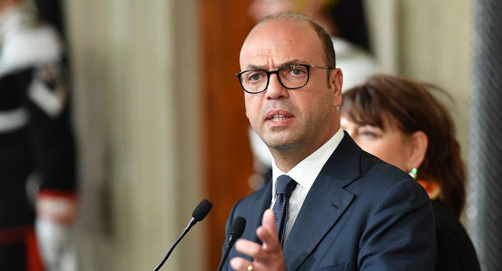 وزير الخارجية الإيطالي، أنجيلينو ألفانو