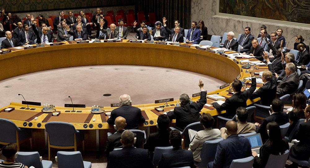 جلسة لمجلس الأمن - أرشيفية