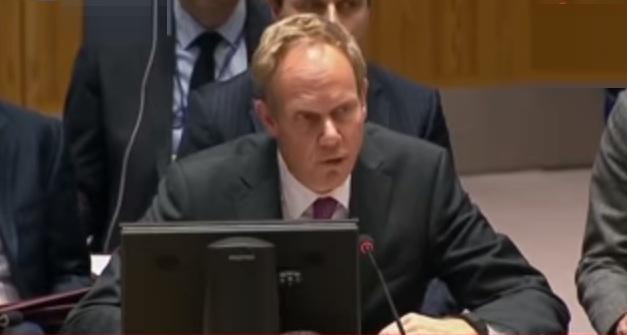 مندوب بريطانيا بمجلس الأمن