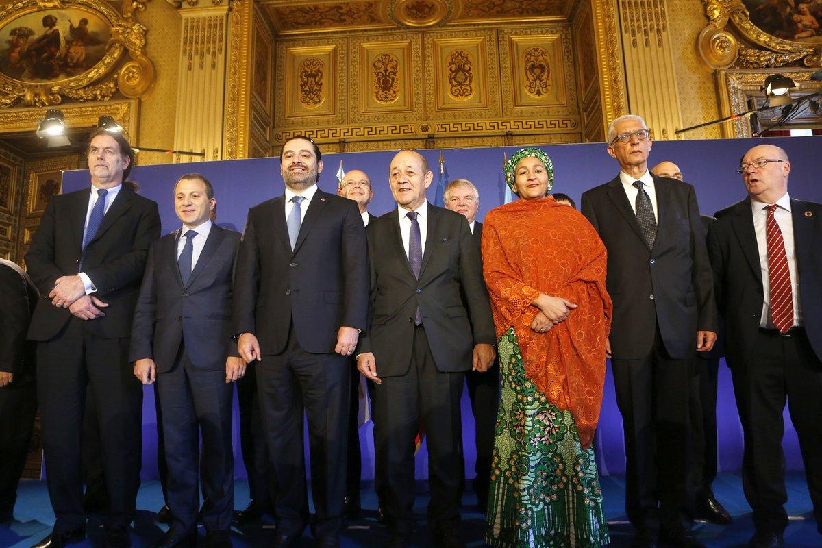 اجتماع المجموعة الدولية لدعم لبنان