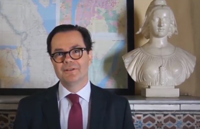 السفير الفرنسي لدى القاهرة