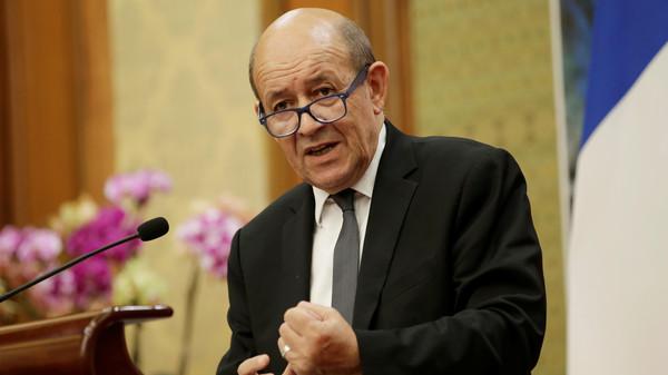 وزير الخارجية الفرنسي جان ايف لو دريان (أرشيفية)