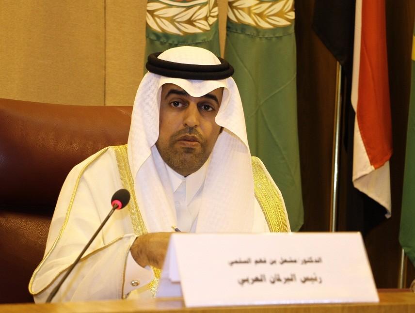رئيس البرلمان العربي الدكتور مشعل السلمي