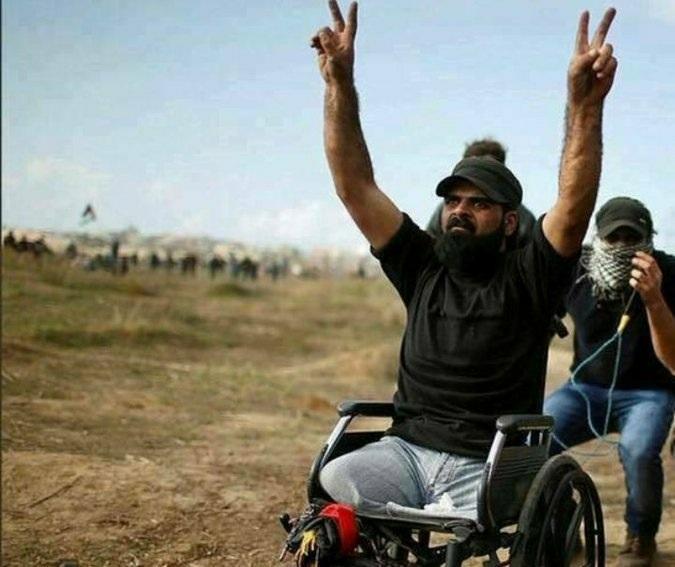 إبراهيم أبو ثريا قبل استشهاده