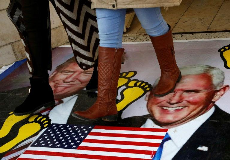 مظاهرة مناهضة لقرارات ترامب - تعبيرية