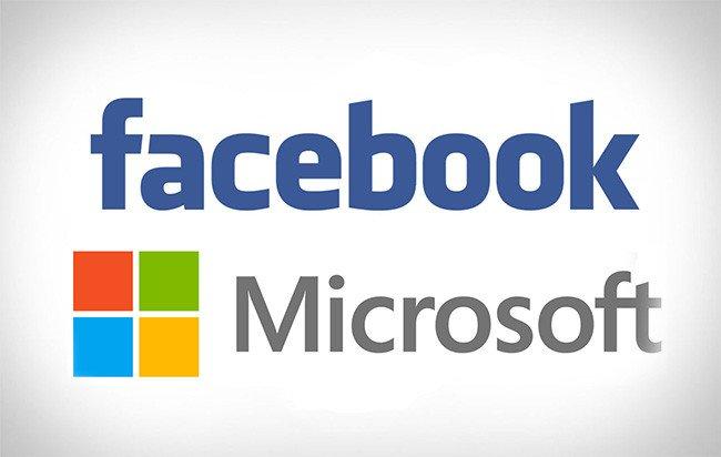 فيسبوك ومايكروسوفت