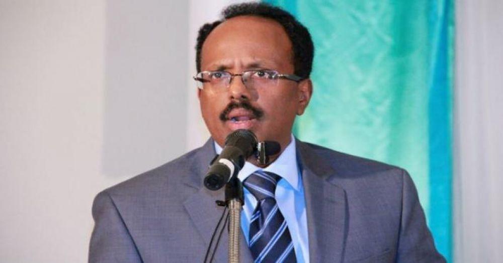 الرئيس الصومالى أحمد عبد الله