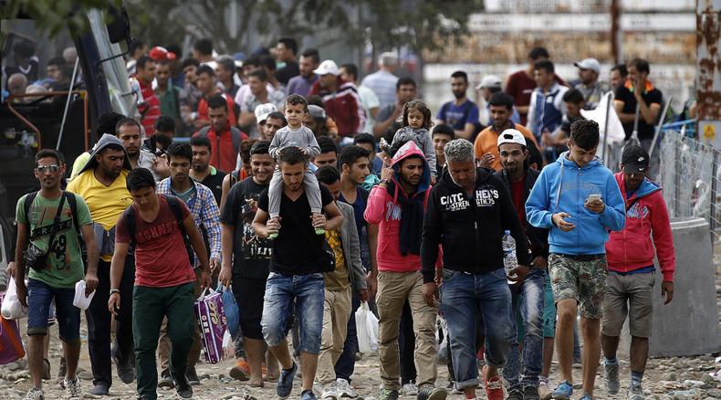 اللاجئين فى الدنمارك