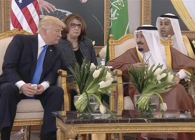 صورة أرشيفية للملك سلمان والرئيس الأمريكى دونالد ترامب